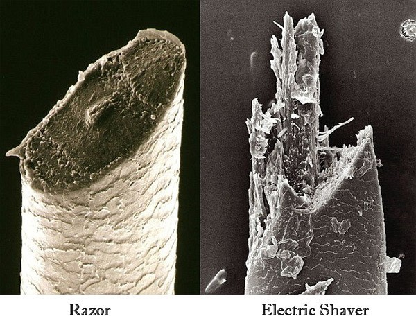 Hair Cut By Electric Shaver vs Razor