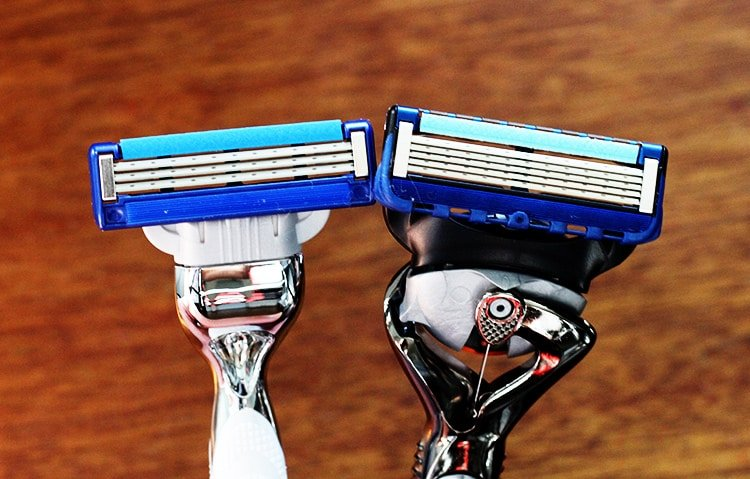 Gillette MACH3 vs Fusion