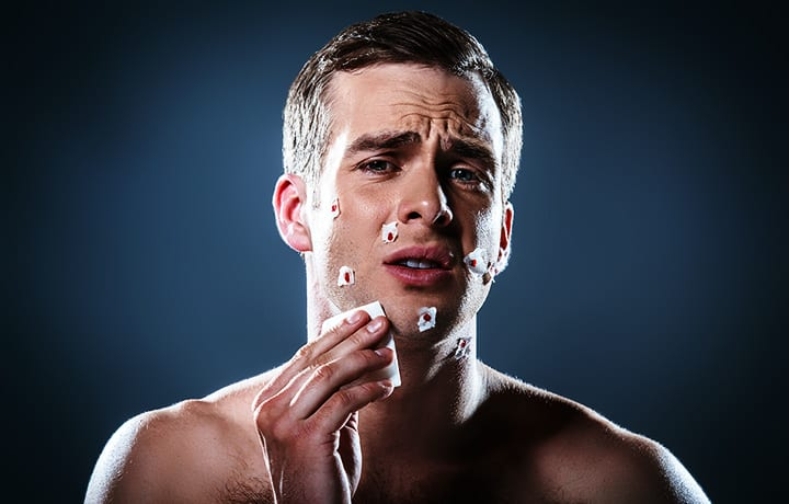How to Treat Razor Nicks and Cuts
