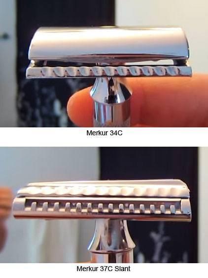 Merkur 34C vs 37C Head