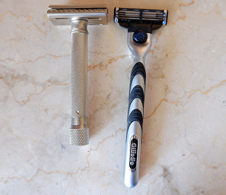 Parker Variant Adjustable vs Gillette Mach 3
