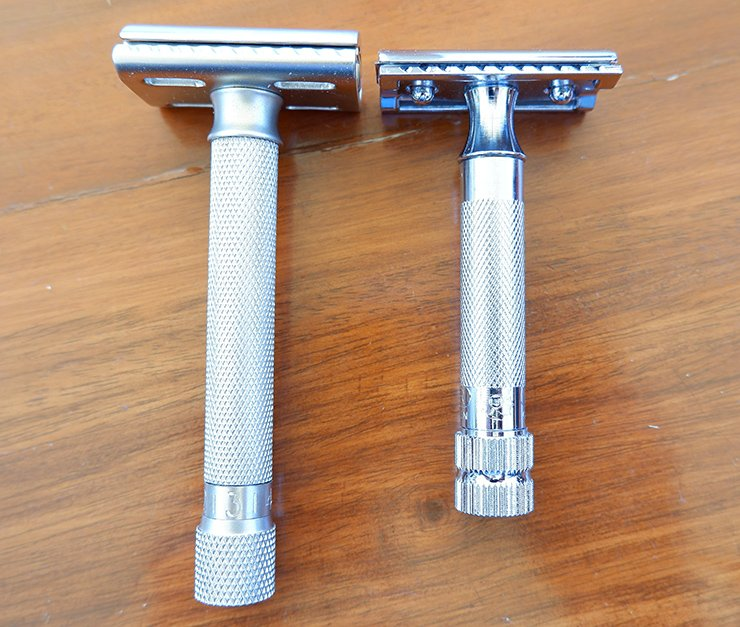 Parker Variant Adjustable vs Merkur 34C