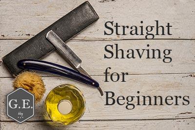 Straight Shaving For Beginners